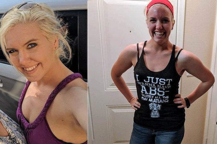 Die 24-Jährige nahm aus Rache 38 Kilogramm ab.