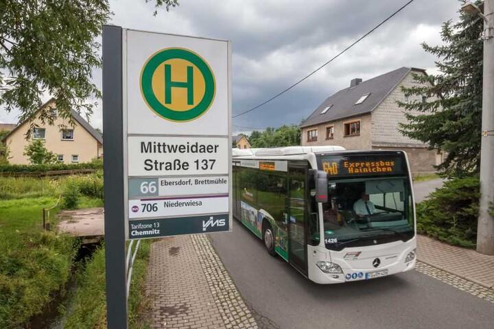 Die Haltestelle Mittweidaer Straße 137 soll einen neuen Namen bekommen.