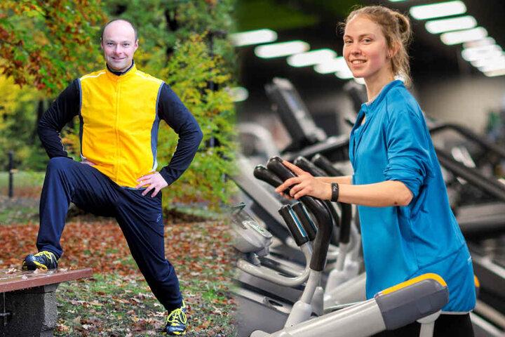 Fitnesscoach Tobias Haustein (40) hilft beim Umsetzen der guten Vorsätze.
