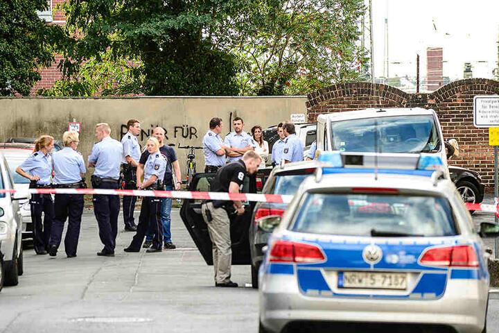 Die Polizei wurde am Morgen des 30. September zu einer tödlichen Streit in der Paderborner Innenstadt gerufen.