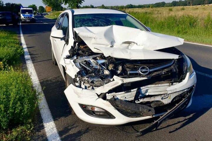 Ein Opel war in das Heck eines Hyundais gekracht.