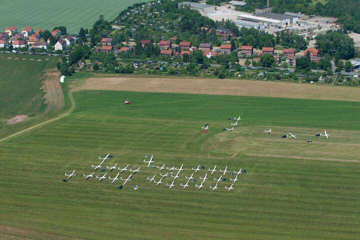 Der Aero Club Zwickau ist Sachsens größter Luftsportverein.