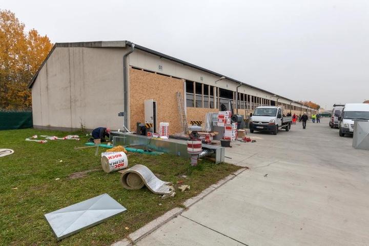 Die Erstaufnahmeeinrichtung in der Kaserene in Frankenberg wurde bereits Ende Juni geschlossen.