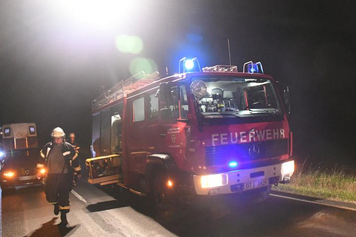 Die Feuerwehr konnte die Stute auch nicht mehr retten.