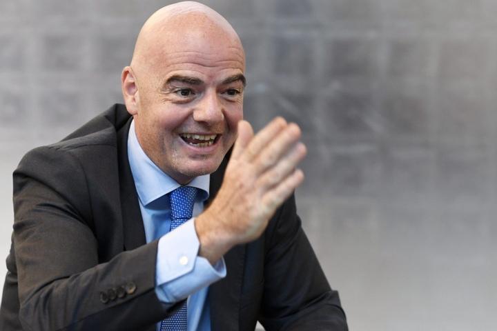 FIFA-Präsident Gianni Infantino hat die Mammut-WM durchgeboxt.