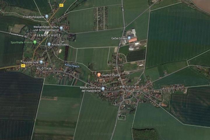 Der Unfall ereignete sich in Prittitz bei Teuchern.