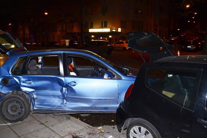 Der 70-jährige Polo-Fahrer erlitt schwere Verletzungen, seine Beifahrerin leichte.