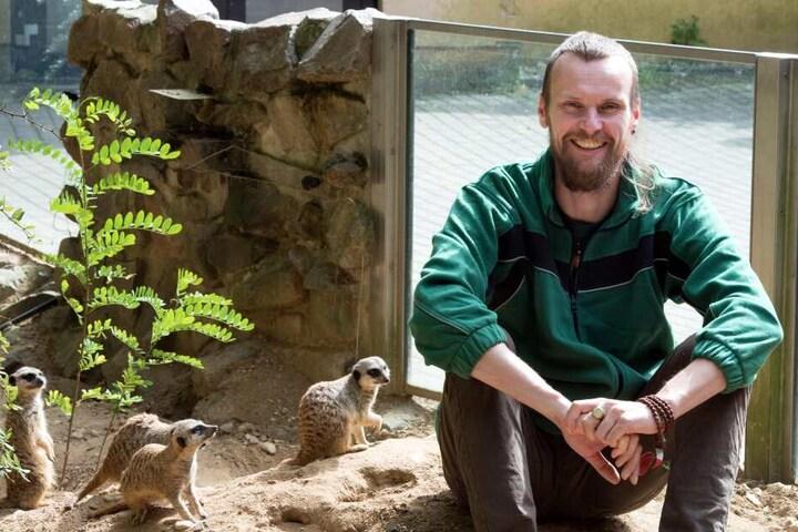 Zoopädagoge Jan Klösters (35) plaudert vergnüglich über das Liebesleben der Tierparkbewohner.