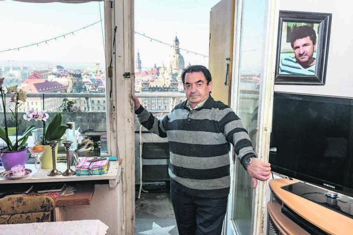 Mieter Carmine Onnembo (77) hat sich eine neue Wohnung gesucht. Den Aufhebungsvertrag hat er auf Rat seines Anwalts nicht unterschrieben.