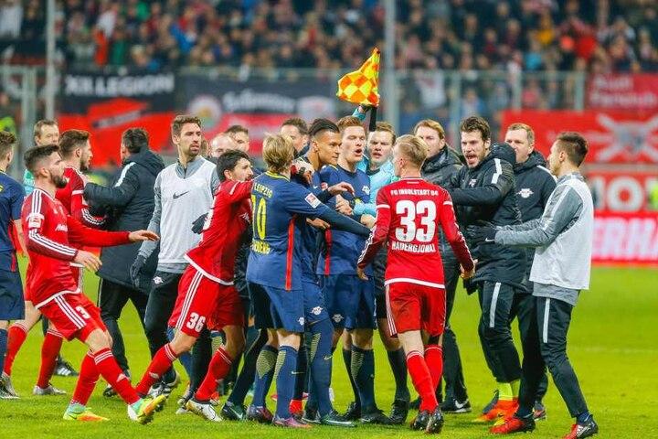 RB Leipzig verlor das letzte Spiel beim FC Ingolstadt mit 0:1.