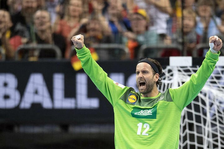 Trug mit seinen Paraden wesentlich zum Erfolg bei: Torhüter Silvio Heinevetter