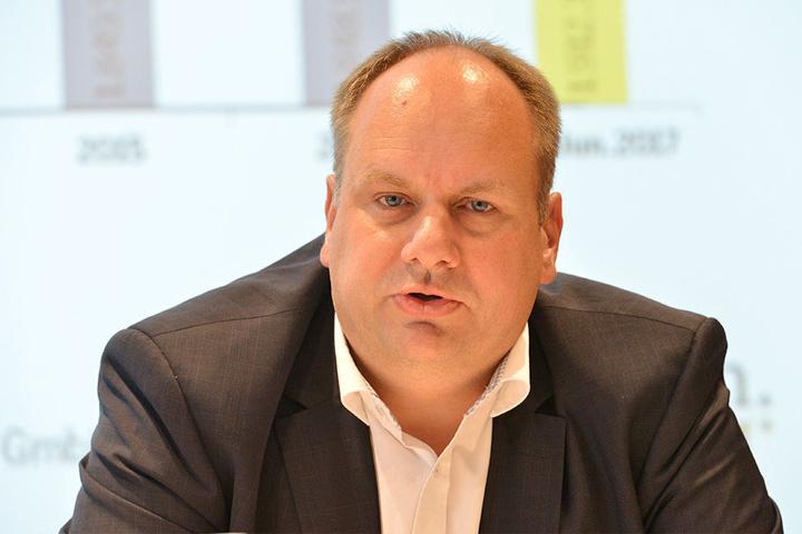 Unter Druck: OB Dirk Hilbert (FDP).