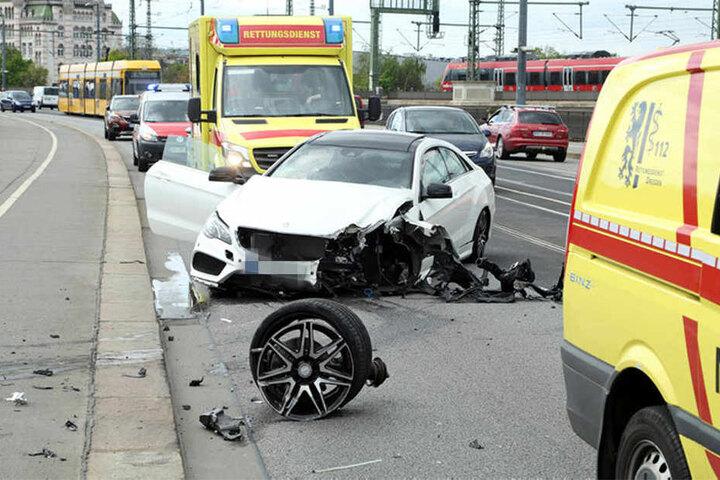 Im Sommer 2017 wurde eine 28-jährige Radfahrerin bei diesem Unfall schwer verletzt.