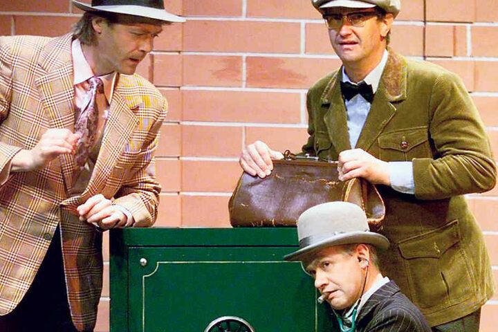 Die Olsenbande gehört zu den belachtesten Stücken des Zwinger Trios.