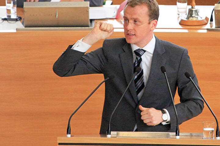 """Alexander Krauß (CDU). """"Verkauf von Reizgas erst ab 18"""""""