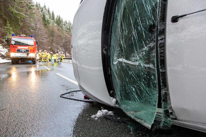 Der Mann klaute den Wagen und zerstörte ihn nur wenige Minuten später.
