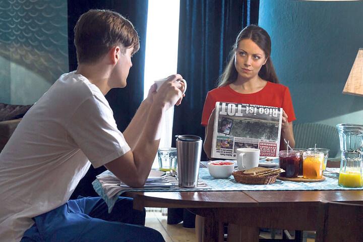 Jennifer Wolf (Alice Dwyer, 26) weiß, dass ihr Freund René (Benjamin Lillie, 32) einen Hang zu Kindern hat.