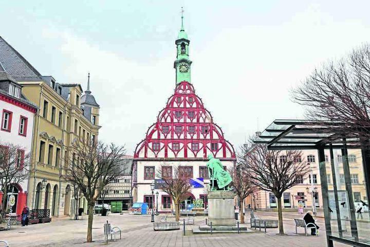 Das Zwickauer Gewandhaus wird für rund 15 Millionen Euro saniert.