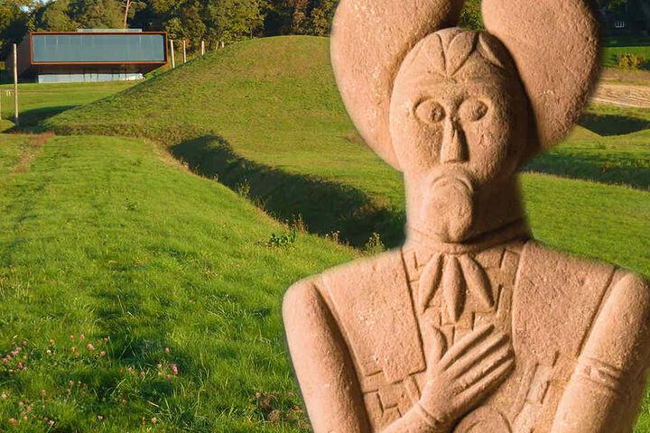 """Die Statue """"Keltenfürst vom Glauberg"""" ist ein weltweit einzigartiges Relikt aus den 5. Jahrhundert vor Christus."""