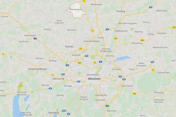 Die Leichen der beiden Frauen wurden in einer Wohnung in Petershausen in Bayern gefunden.