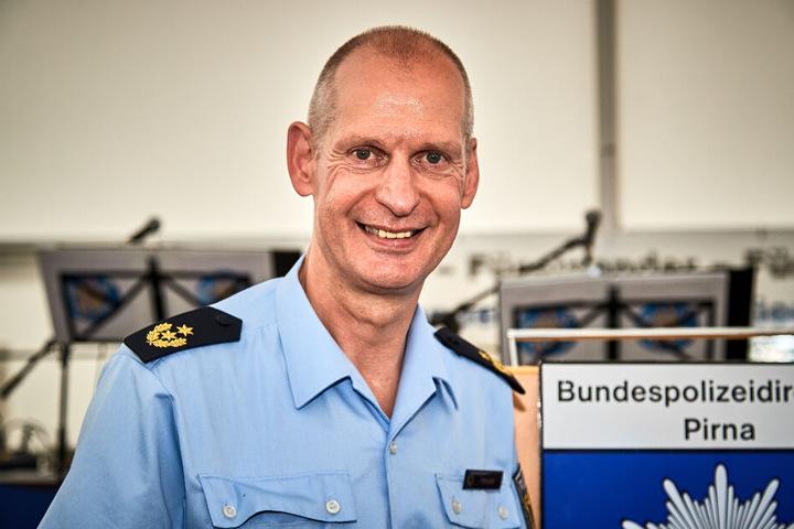 Bundespolizei-Präsident Andre Hesse (55) sieht große Herausforderungen im neuen Jahr.