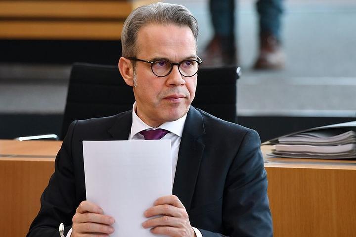 Innenminister Georg Maier (SPD) will die Angriffe nicht länger hinnehmen.