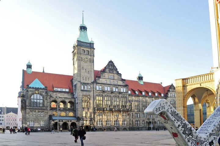 Der Paternoster im Rathaus ist einer der letzten Personenaufzüge dieser Art in Chemnitz.