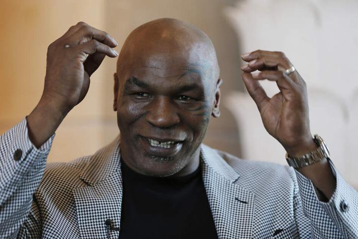 Mike Tyson landete mehrere Male im Knast.