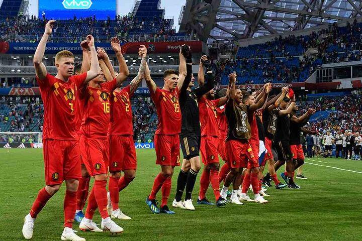 So sehen Sieger aus: Belgien bezwang Außenseiter Panama bei deren erstem WM-Auftritt mit Geduld und Können.