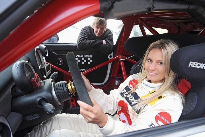 Doreen ist auch sonst rasant im Motorsport unterwegs.