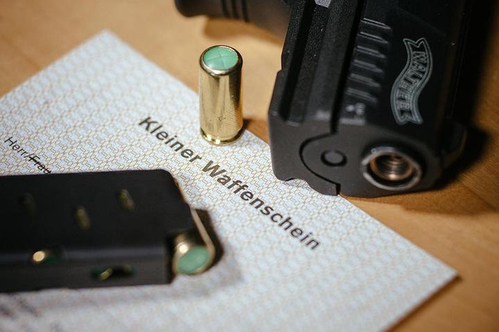 Die Zahl der Kleinen Waffenscheine hat sich in den vergangenen Jahren fast verdoppelt.