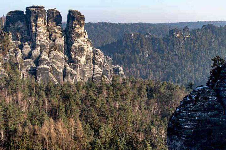 In der Sächsischen Schweiz waren die Retter unterwegs.