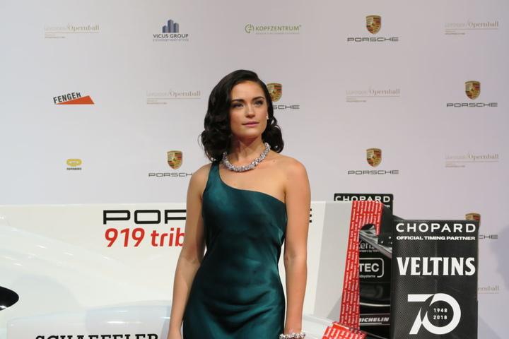 Schüchterne Schönheit: Vikings-Star Alicia Agneson.