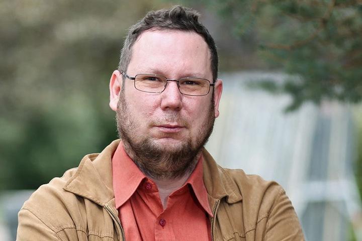 Michael Richter (41), Stadtrat und Mitglied der Partei DIE LINKE, wurde Opfer  der Terror-Gruppe.
