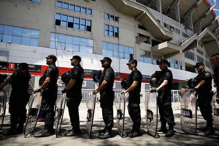 Die Polizei wird das Spiel in Madrid nach den Vorfällen in Buenos Aires entsprechend sichern.