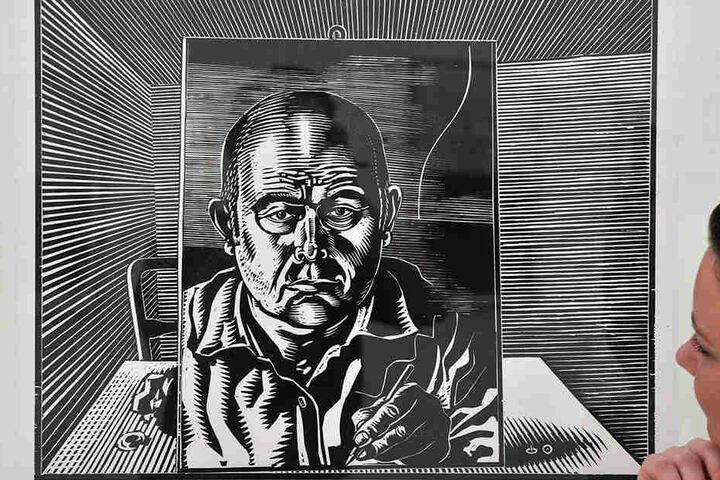 Selbstporträt: Wolfgang Mattheuer wäre am 7. April 90 Jahre alt geworden.