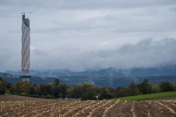 246 Meter hoch ist der Turm.
