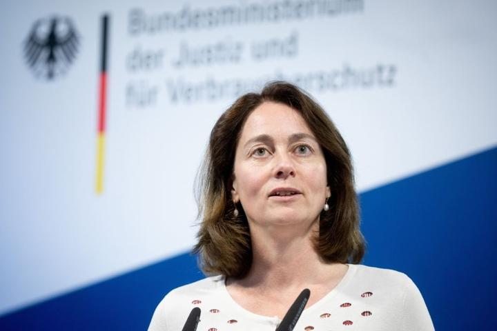 Bundesjustizministerin Katarina Barley (SPD) eröffnet die Ausstellung am Mittwoch im Bundesverwaltungsgericht Leipzig.