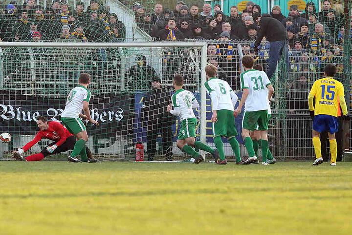 Hiromu Watahiki erzielte in der Verlängerung das 1:0 für Lokomotive Leipzig.