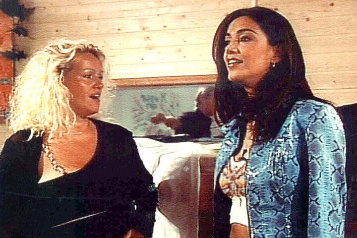 """Sabrina Lange (52) war schon bei """"Big Brother"""" kaum zu überhören. Als Verona Pooth (51) als Gaststar vorbeischaute, verschlug es der Blondine aber die Sprache."""