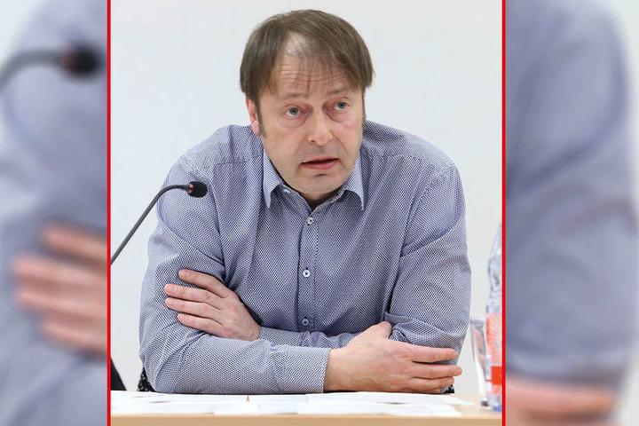 Chemnitz wächst, also muss auch der ÖPNV wachsen, so Thomas Lehmann (49, Grüne).