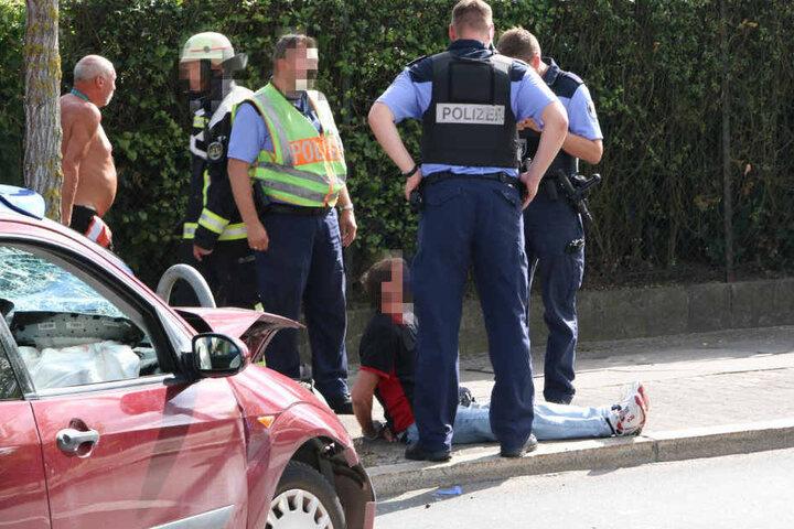 Die Polizei konnte den Mann festnehmen.