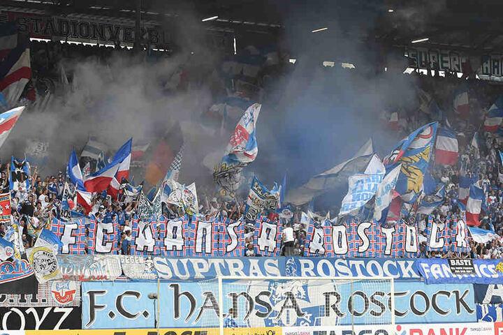 Die Rostocker-Fans sind für ihre gewaltbereiten Fans deutschlandweit bekannt.