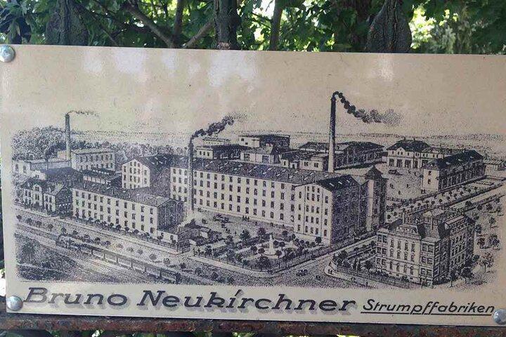Die Strumpffabrik beschäftigte mehr als 1 000 Mitarbeiter, besaß weltweit einzigartige Patente.