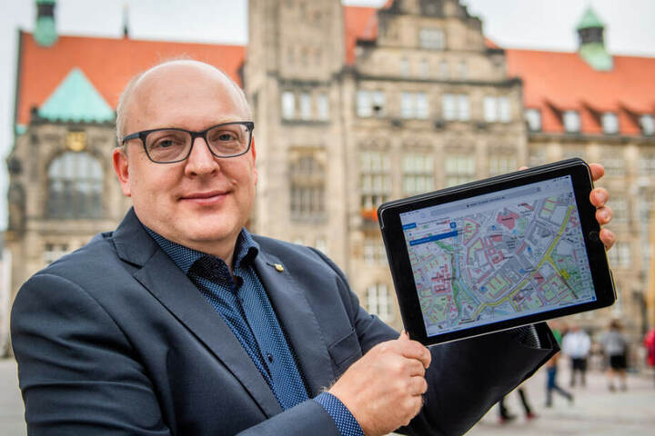 Sven Schulze (48) muss von der SPD noch bestätigt werden.