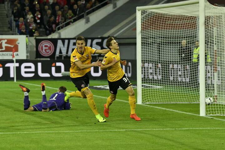 So schön wollen die Schwarz-Gelben gegen Greuther Fürth wieder jubeln.