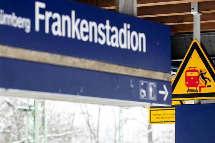 Am Nürnberger S-Bahnhof Frankenstadion war es zu dem schrecklichen Zwischenfall gekommen.