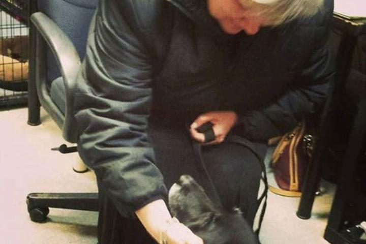 Hundebesitzerin Debra Suierveld sprachlos und überglücklich.