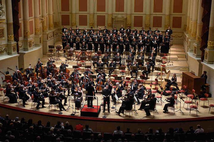Nach dem Konzert verzichteten die Besucher dem Anlass angemessen auf Applaus.