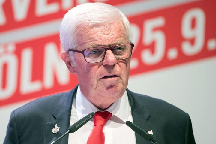 Werner Spinner, Präsident des 1. FC Köln.
